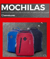 especial mochilas