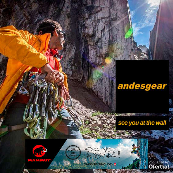 Ofertas de Andesgear, see you at the wall