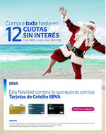 Ofertas de BBVA, 12 cuotas sin interés