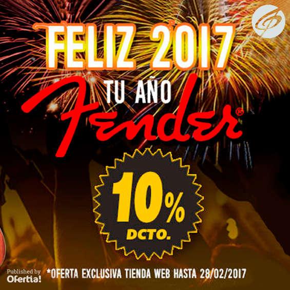 Ofertas de Casa Amarilla, Feliz Año Fender