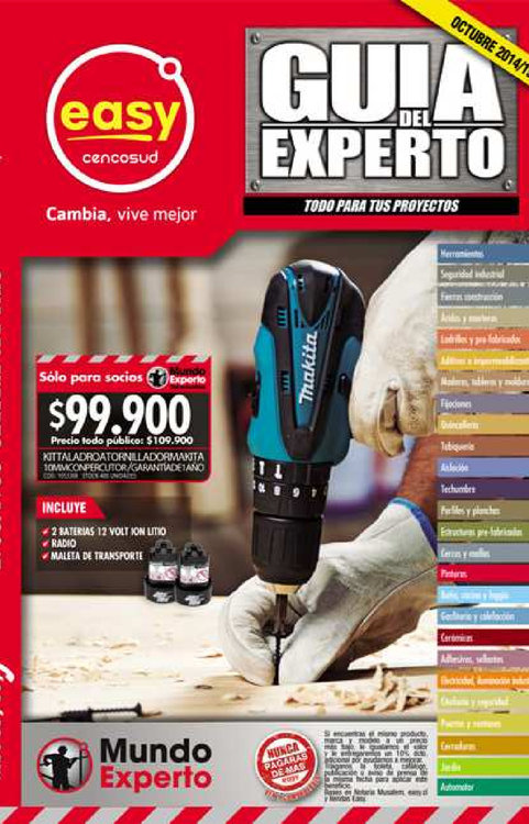 Easy valpara so cat logos ofertas y descuentos ofertia for Easy argentina catalogo
