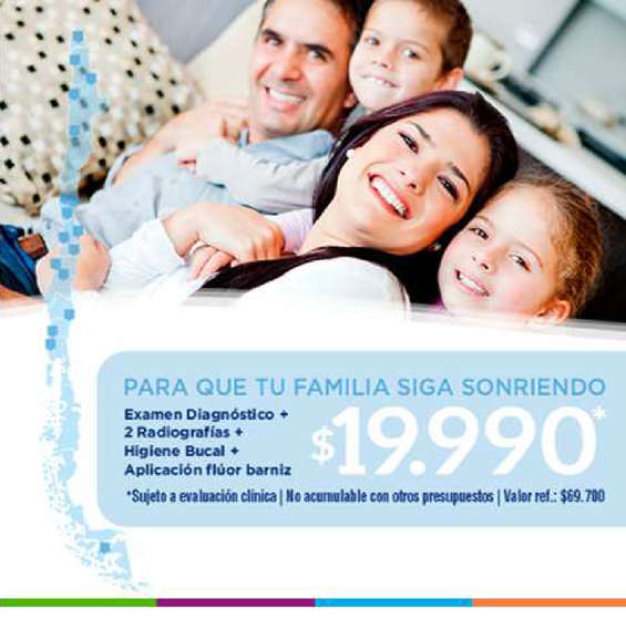 Ofertas de Mega Salud, Diagnósticos