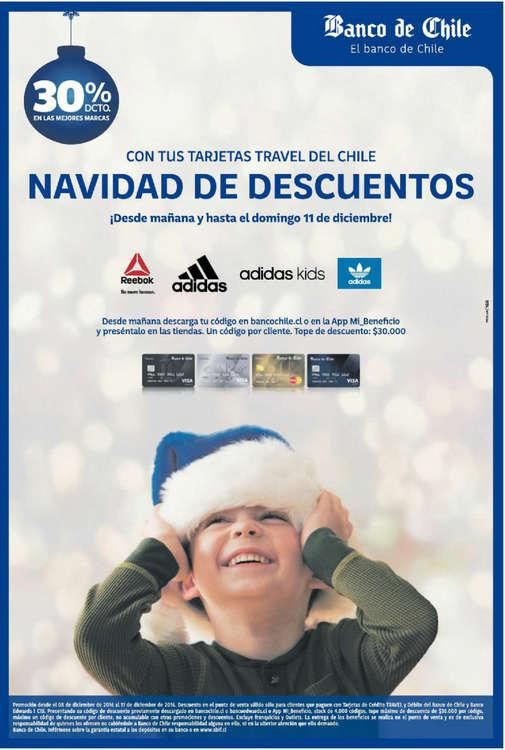 Ofertas de Banco de Chile, navidad de descuentos