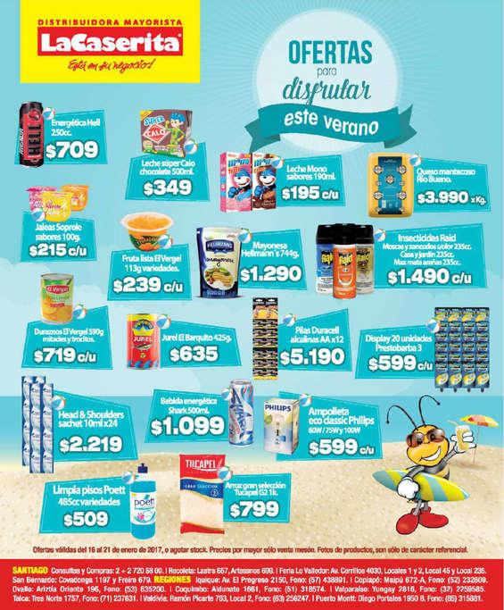 Ofertas de La Caserita, ofertas para disfrutar este verano