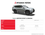 Ofertas de Mitsubishi, montero sport 3.0 bencina