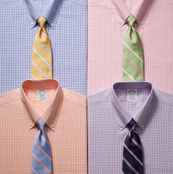 Ofertas de Brooks Brothers, adelanto corbatas