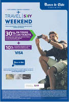 Ofertas de Banco de Chile, travel sky weekend