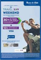 Ofertas de Banco de Chile, travel sky weekend