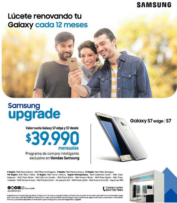 Ofertas de Samsung, samsung upgrade