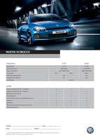 Ofertas de Volkswagen, nuevo scirocco
