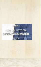 spring summer hombre