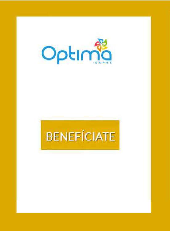 Ofertas de Óptima, benefíciate