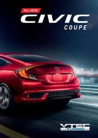 all new civic coupe