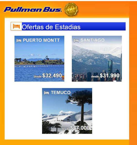 Ofertas de Pullman, viaja pullman