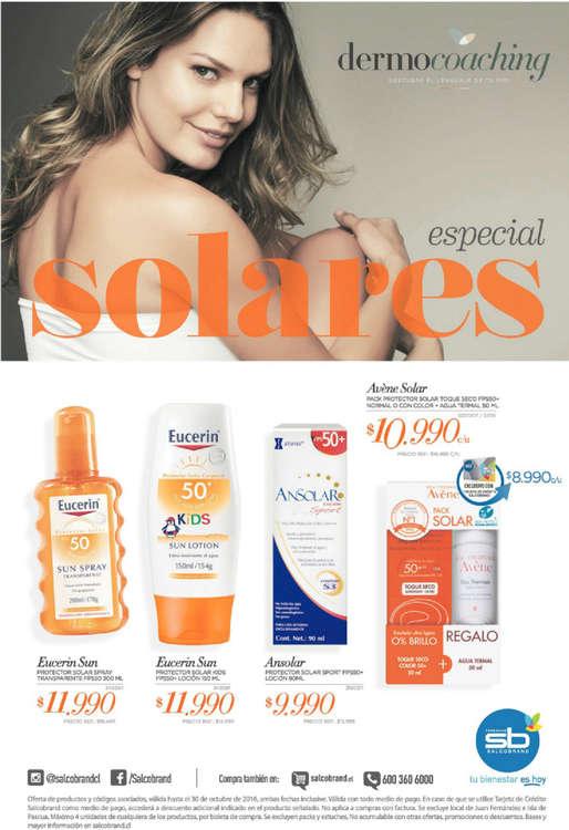 Ofertas de SalcoBrand, especial solares