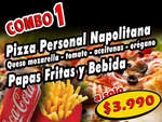 Ofertas de Jhot Pizza, combos