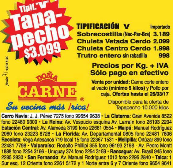 Ofertas de Doña Carne, ofertas mayorista