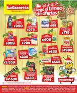 Ofertas de La Caserita, llegó el trineo de ofertas