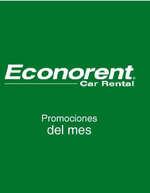 Ofertas de Econorent, promociones primaverales