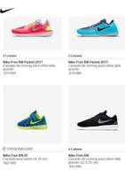 Ofertas de Nike, niñas