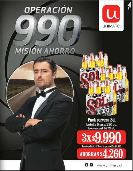 Ofertas de Unimarc, operación 990