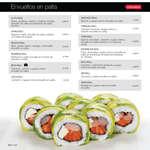 Ofertas de Sushi House, Nuevo Menú 2016