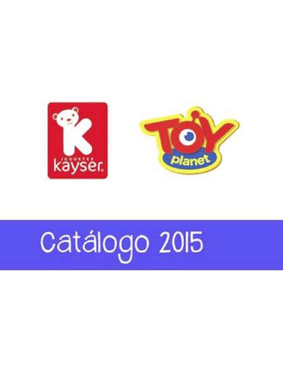Ofertas de Juguetes Kayser, adelanto catálogo 2015