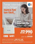 Ofertas de Entel, internet hogar