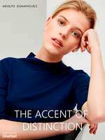 Ofertas de Adolfo Dominguez, The Accent of Distinction