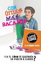 Ofertas de Lápiz López, vuelta a clases