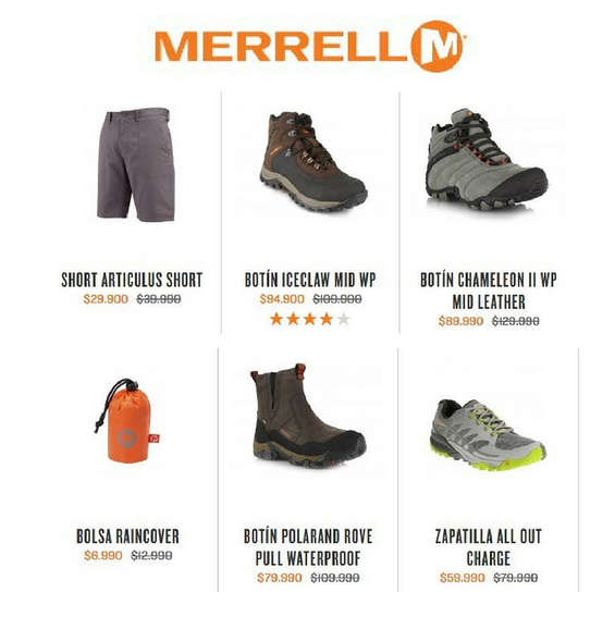 Ofertas de Funsport, Sale Merrell