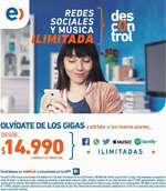 Ofertas de Entel, descontrol