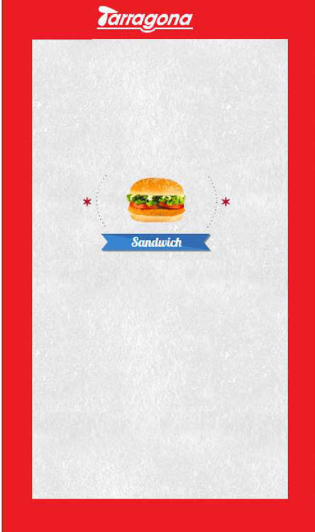 Ofertas de Tarragona, sandwich