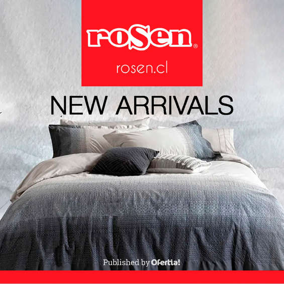 Ofertas de Rosen, New Arrivals