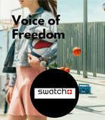 Ofertas de Swatch, Voice of freedom