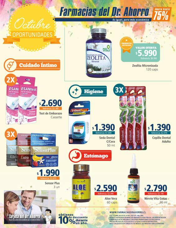 Ofertas de Farmacias del Dr.Ahorro, oportunidades de octubre