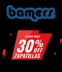 30% OFF zapatillas