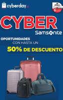 Ofertas de Samsonite, cyber