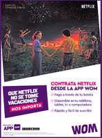 Ofertas de WOM, Wom Netflix