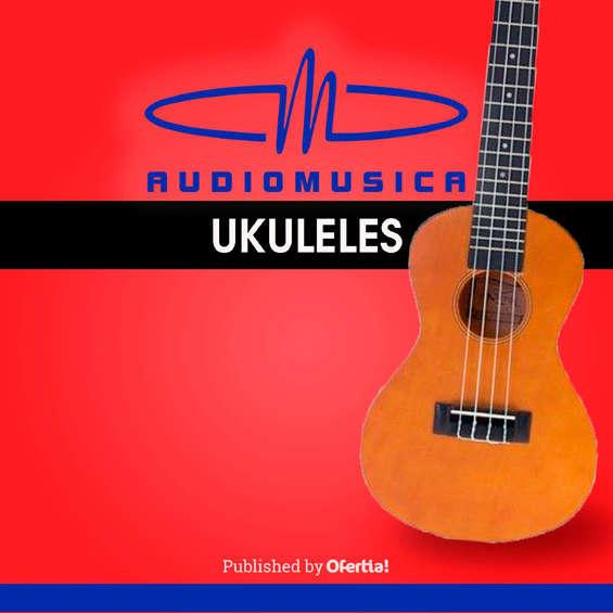 Ofertas de Audiomusica, Ukuleles