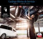 Ofertas de Kaufmann, Catálogo ofertas de servicio abril-junio 2021