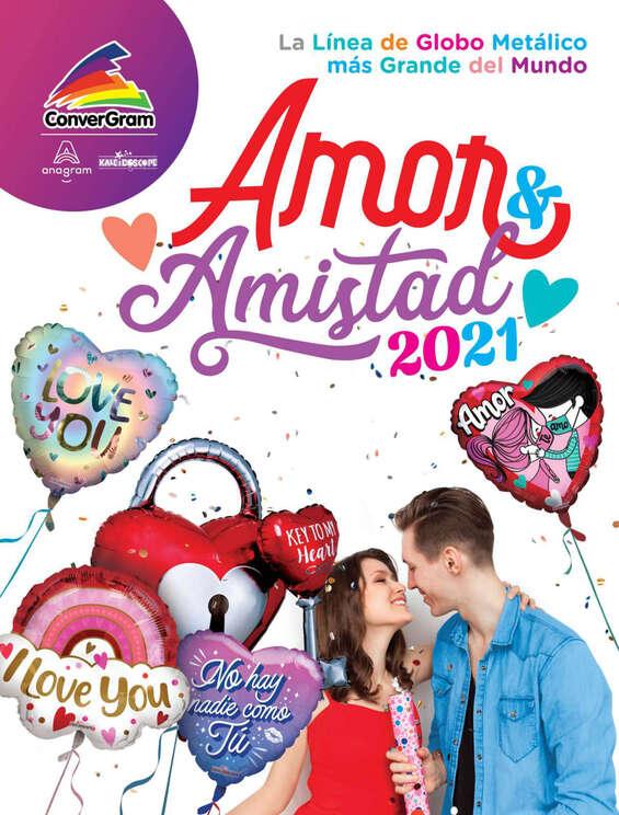 Ofertas de Globo Polis, Amor Amistad-2021