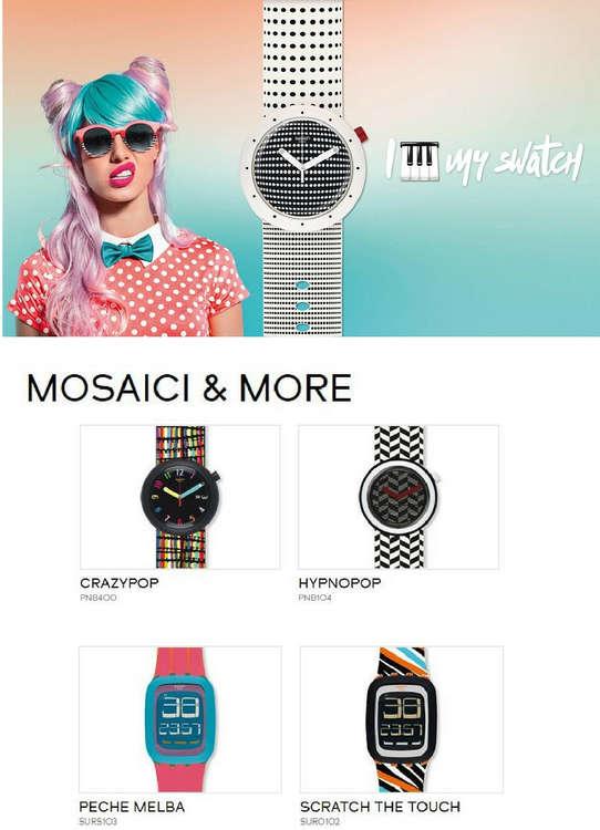 Ofertas de Swatch, Mosaici & More