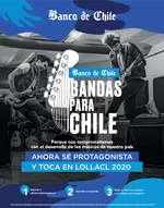 Ofertas de Banco de Chile, Bandas Para Chile