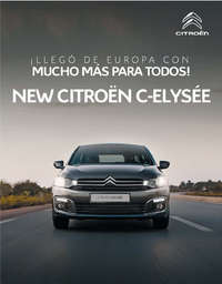 new citroën c-elysée