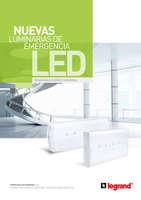 Ofertas de Legrand, Catálogo Luminarias de emergencia LED