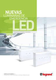 Catálogo Luminarias de emergencia LED