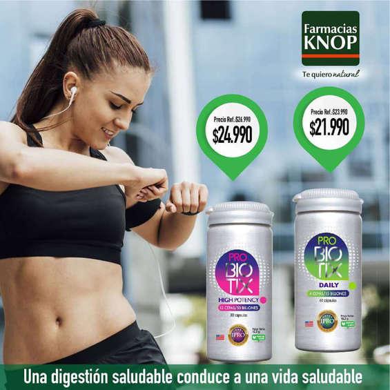 Ofertas de Farmacias Knop, Digestión saludable