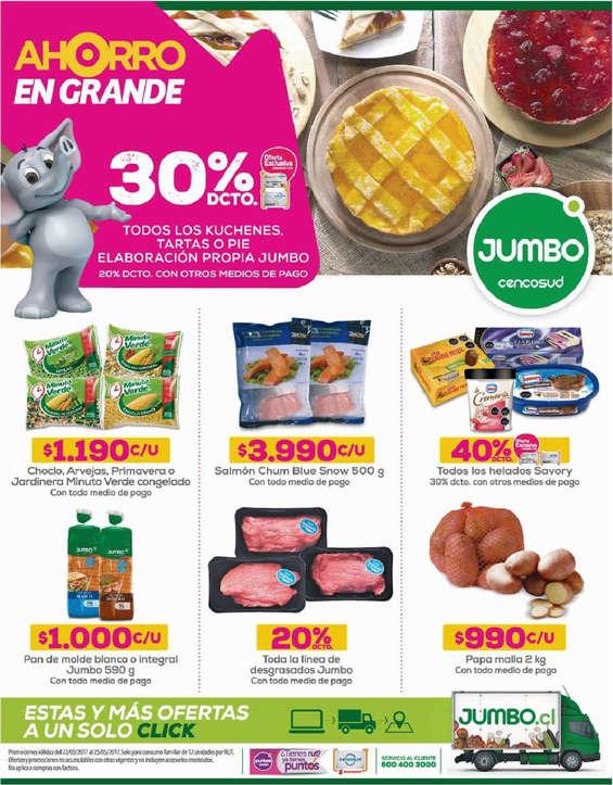 Ofertas de Jumbo, ahorro en grande