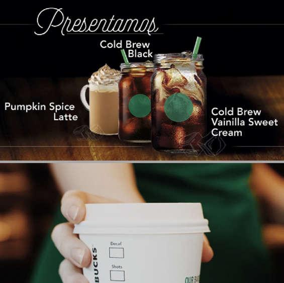 Ofertas de Starbucks, Lo nuevo de Starbucks